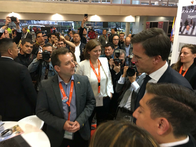 Colombia TradeMission Day3 Rutte