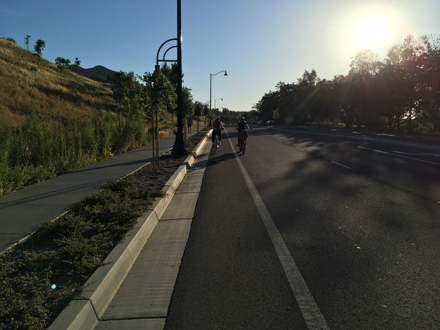 Cycling in Thousand Oaks