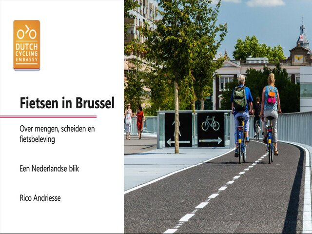 Infrastructure Choices in Brussels